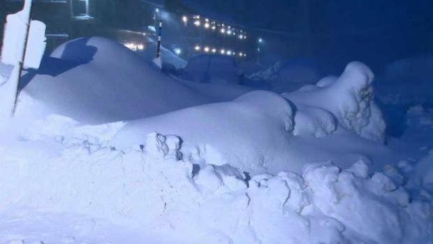 [BAY] Multiple Feet of Snow Piling Up Across Tahoe Ski Resorts