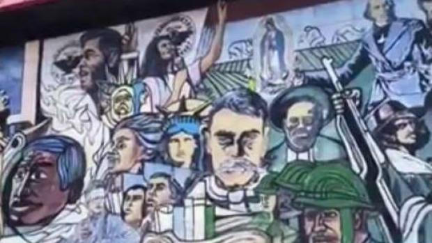 [BAY] Mural Depicting Latino History Painted Over in East San Jose