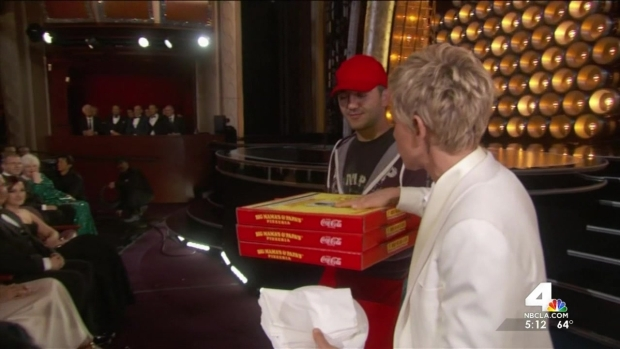 [LA] Local Pizza Shop Delivers to Oscars