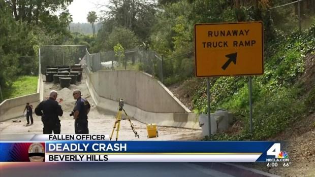 [LA] LAPD Officer Killed in Crash Identified