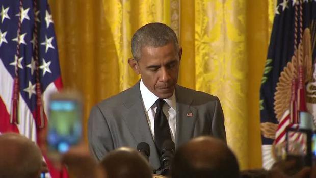 [NATL] Raw Video: Obama Responds to Nice Attacks