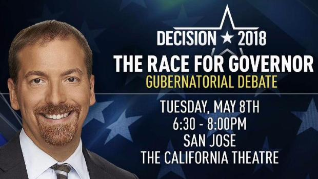 NBC Bay Area and SVCF to Host Debate for California Governor