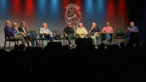 [NATL] Apollo Astronauts Reunite for 50th Anniversary