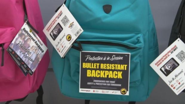 [NATL] Bulletproof Backpack Sales Spike During Back-to-School Season