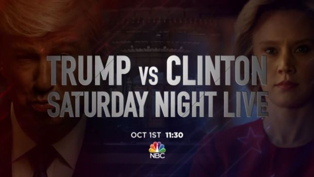 [NATL] 'Saturday Night Live' Returns With Political Face-Off