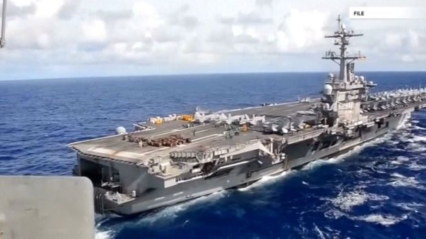 White House Defends Aircraft Carrier Claim