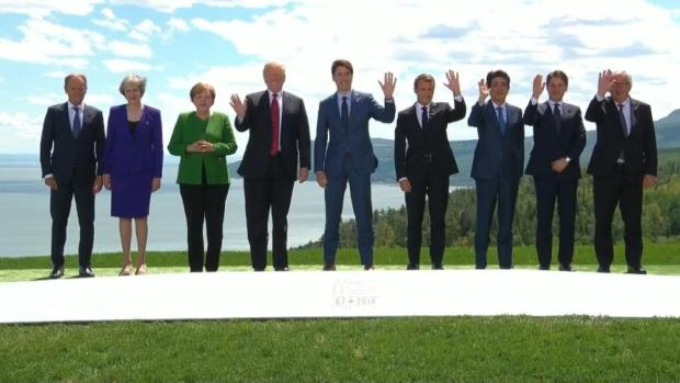 [NATL] Trump Leaves US Allies Frustrated at G7 Summit