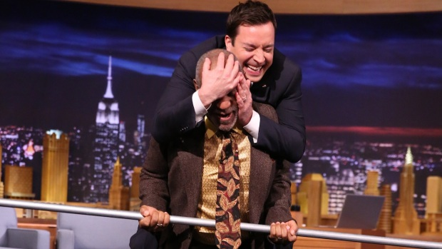 "[NATL] Cosby Carries Fallon, Tightropes on ""The Tonight Show"""