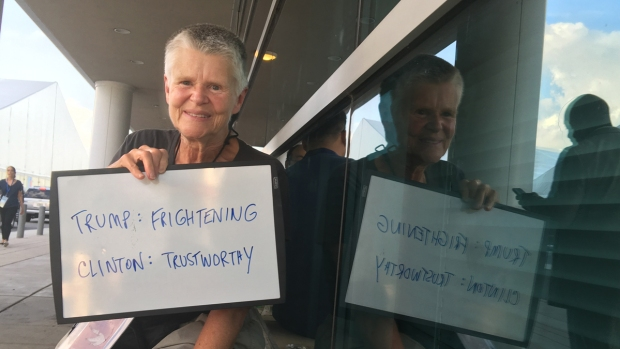DNC Attendees Share Their Opinions on Candidates
