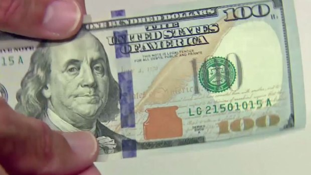 [NATL-DFW] New $100 Bill Has Improved Security Features