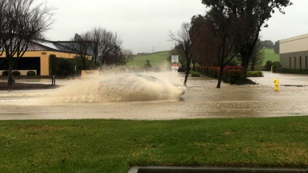 Packing a Punch: Mighty Storm Douses Bay Area with Rain