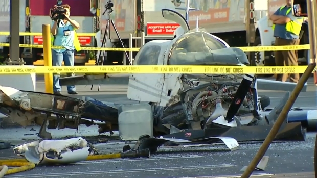 [G] Small Plane Crashes in Kearny Mesa