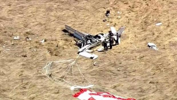 1 Dead, 3 Injured in Small Plane Crash in Sonoma County