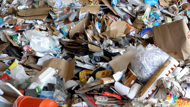 Burbank Recycling Center >> Recycling Breaks Down: US Struggles to Keep Plastic From ...