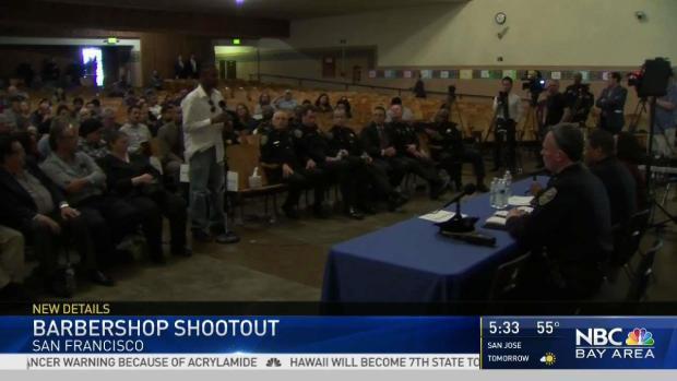 Police Releases Bodycam in SF Barbershop Shooting