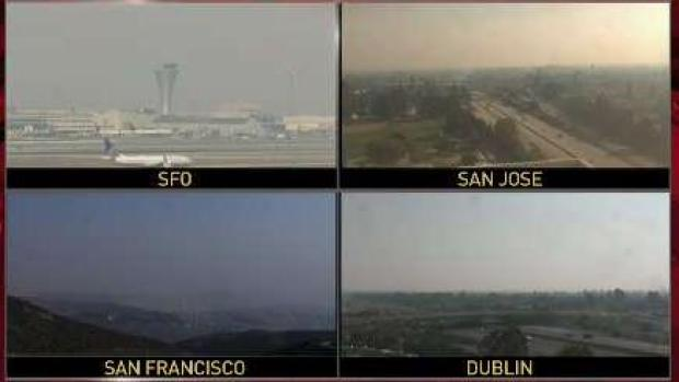 [BAY] Smoke-Filled Air Permeates Bay Area Skies
