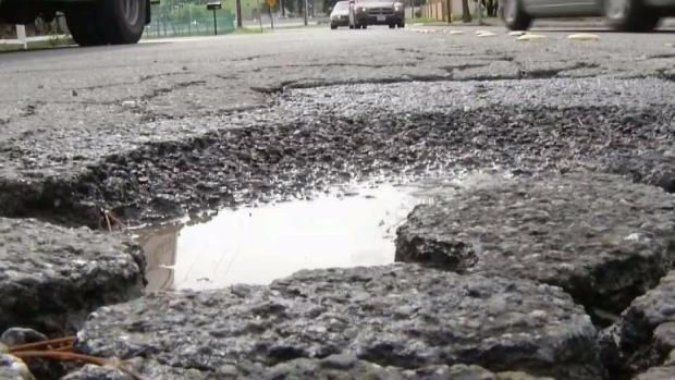 Pothole Concerns as Storm Pushes Through Bay Area