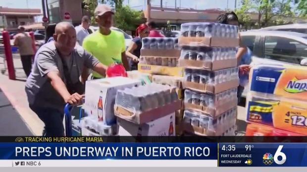[NATL-MI] Preparation for Hurricane Maria Underway in Puerto Rico