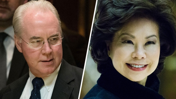 [NATL] Price, Chao Tapped For Trump's Cabinet