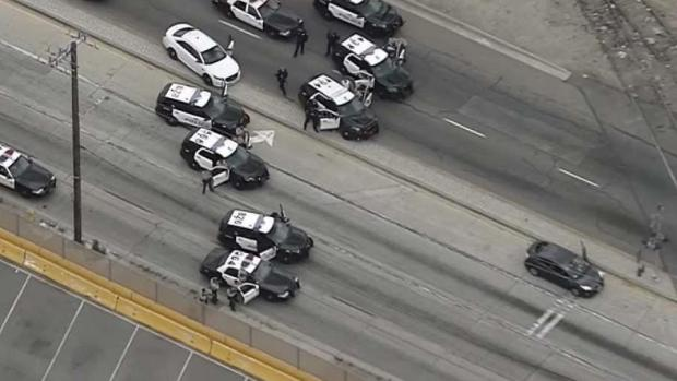 Pursuit Passenger Exchanges Gunfire During Chase