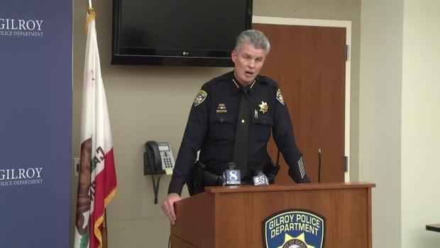 [BAY] RAW: Gilroy Police Chief Scot Smithee on Gunman Shooting Himself