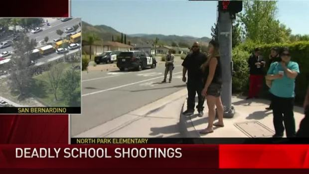 Watch: Shooting at San Bernardino Elementary School