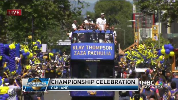 REPLAY: 2018 Warriors Victory Parade