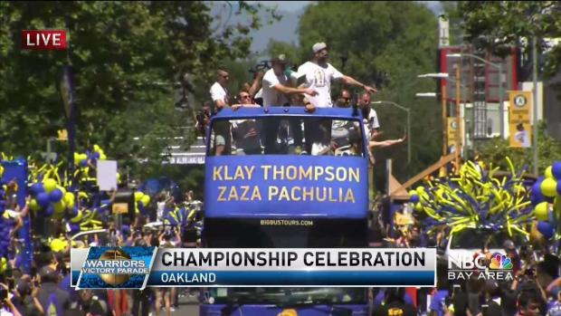 [BAY] REPLAY: Watch the 2018 Warriors Victory Parade