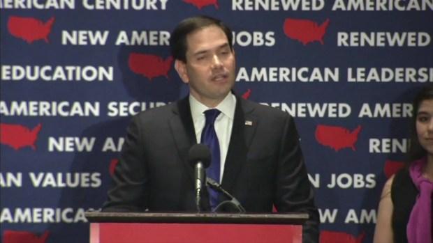 [NATL] Rubio Drops Out, Denounces 'Politics of Resentment'