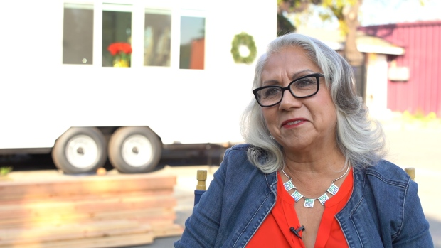 RAW: SJCC Board Chair Sandra Murillo Discusses Tiny Home Project