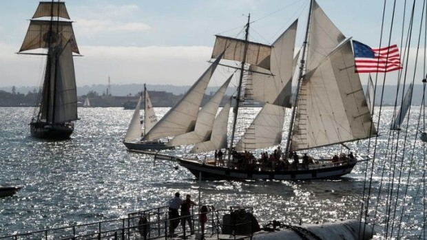 20+ Tall Ships at Festival of Sail