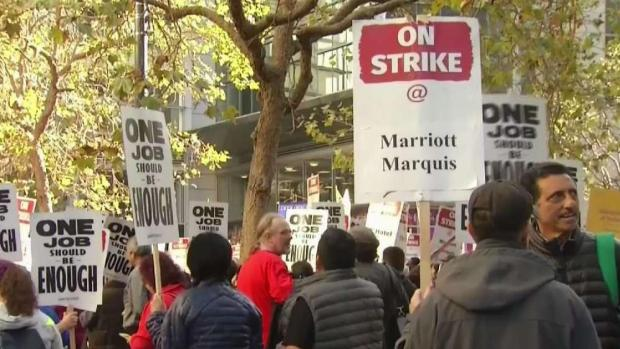 [BAY] SF Supervisors to Hold Hearing About Marriott Workers Strike