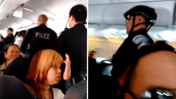 CAUGHT ON CAMERA: Passenger Brawl On Spirit Airlines Flight