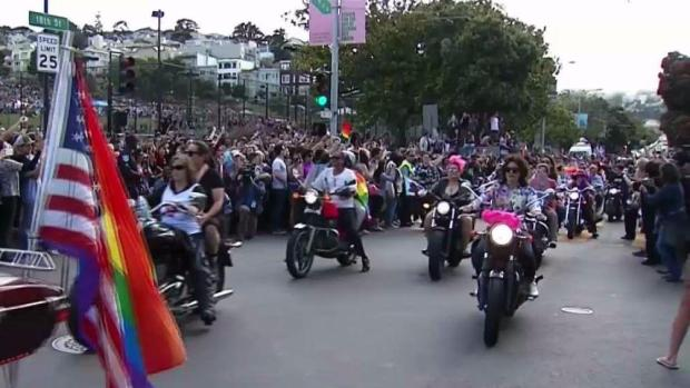 San Francisco Dyke March Kicks Off