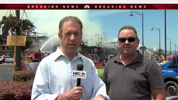 Santa Clara 4-Alarm Construction Site Fire