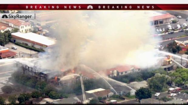 4-Alarm Construction Fire in Santa Clara