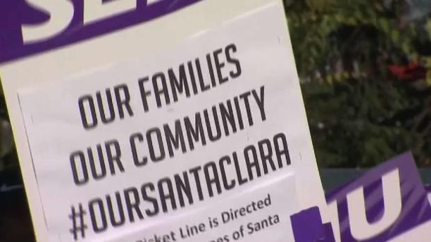 [BAY] Santa Clara County Workers Go on Strike