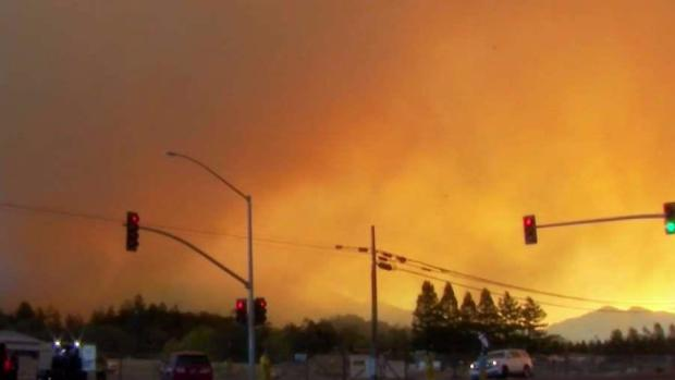 Santa Rosa Residents Fear Unpredictable Wildfire