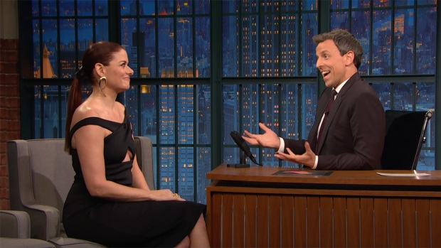 'Late Night': Debra Messing Talks 'Will and Grace' Revival