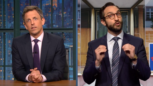 [NATL] 'Late Night': Meyers Prepares for Jon Ossoff Winning, Losing Georgia Election