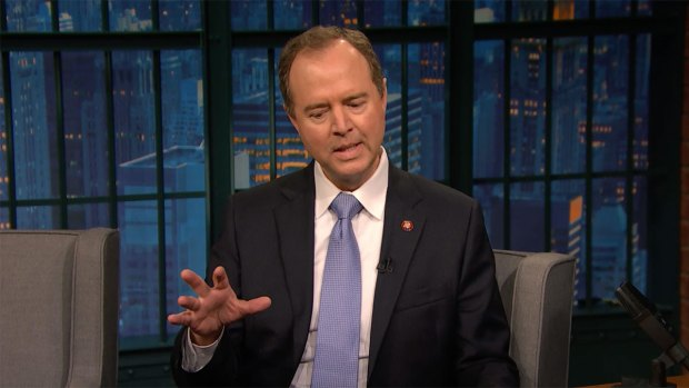 [NATL] 'Late Night': Rep. Adam Schiff Explains Why a Grand Jury Matters