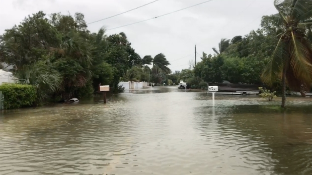Flooding, outages remain after Irma