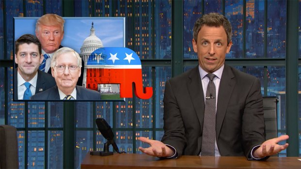 [NATL] 'Late Night': A Closer Look at the GOP's 'Hail Mary' Health Bill