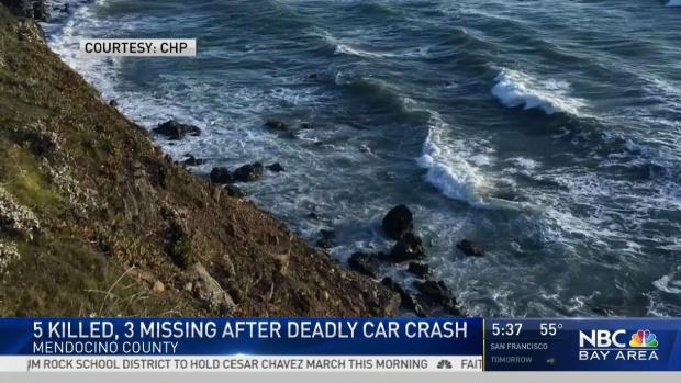[BAY] Search for Missing Kids After Cliff Crash in Mendocino
