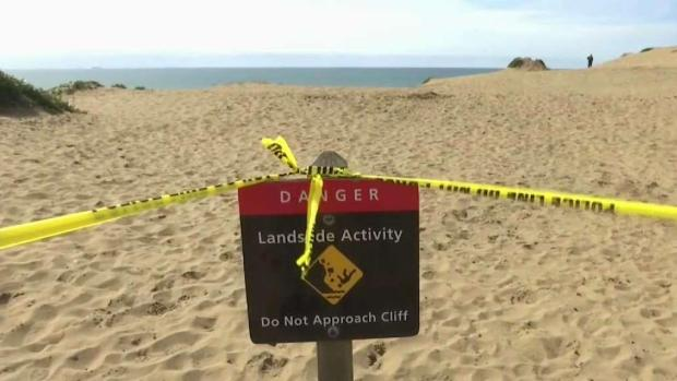 Search for Woman's Body in Fort Funston Continues