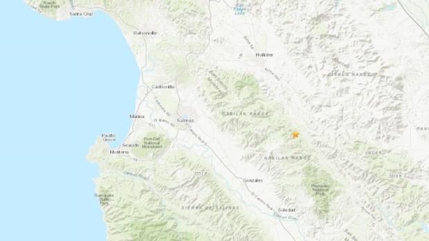 [BAY] 3.4 Magnitude Earthquake Hits Near Hollister, Salinas