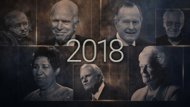 Influential People We've Lost in 2018