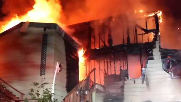 Fire Destroys Home During Vacation Renters' Stay