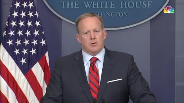 [NATL] Spicer Compares Hitler to Assad in White House Flub