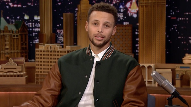 [NATL] 'Tonight': Stephen Curry Reads an Excerpt from His Veterans Day Essay 'The Noise'